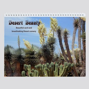 Desert Beauty Wall Calendar